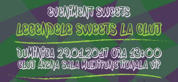 Legendele Sweets pe CLUJ Arena – ALEX RUISCH si OASE – 29 Ianuarie 2017